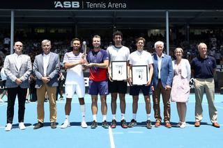 「ASBクラシック」(ATP250/ニュージーランド・オークランド/1月13~18日/賞金総額61万10ドル/ハードコート)