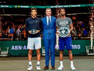 「ABN AMROワールド・テニス」(ATP500/オランダ・ロッテルダム/2月10~16日/賞金総額215万5295ユーロ/室内ハードコート)
