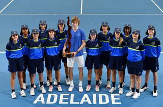 「アデレード国際」(ATP250/オーストラリア・南オーストラリア州アデレード/1月12~18日/賞金総額61万10ドル/ハードコート)