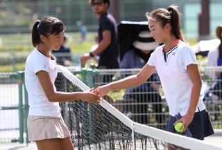 「第45回全国中学生テニス選手権大会」(広島県広島市・広島広域公園テニスコート/団体8月19、20日、個人21~24日/ハードコート)